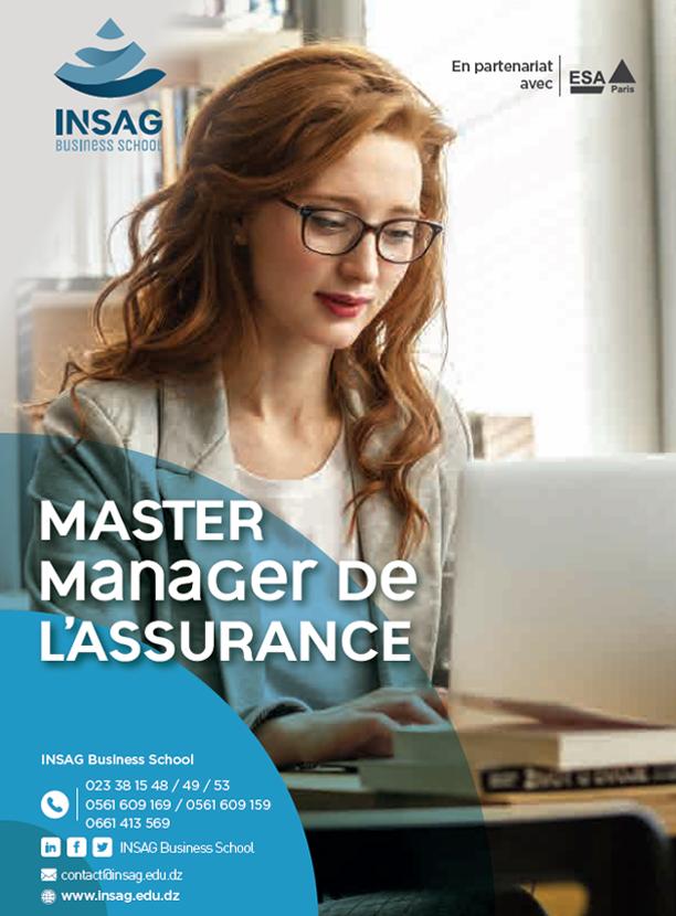 Master Manager de l'Assurance
