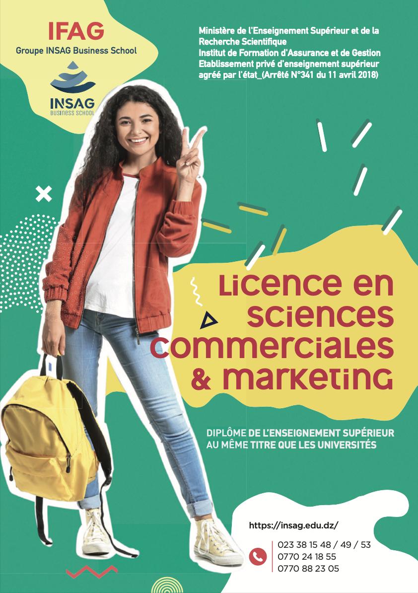 Licence en science commerciale option action commerciale
